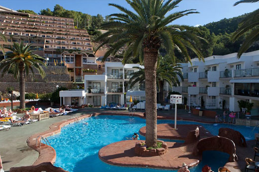 Hotel Club Cartago Gebouw