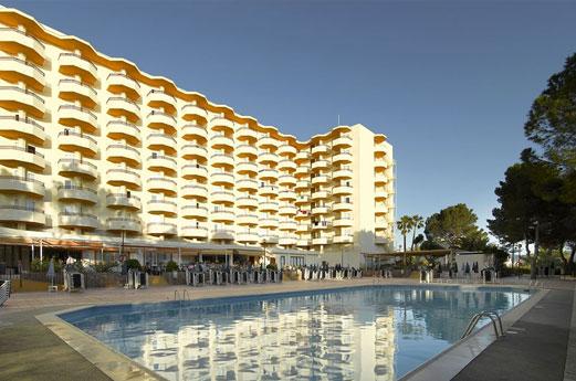 Fiesta Hotel Tanit Gebouw
