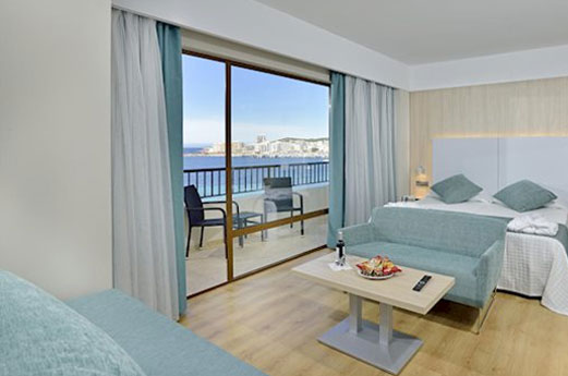 Intertur Hotel Hawaii Ibiza Kamer