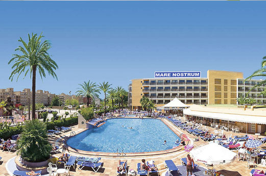 Hotel Mare Nostrum Gebouw