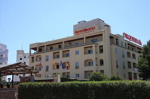 Aparthotel Orquidea Gebouw