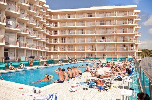 Hotel Piscis Zwembad