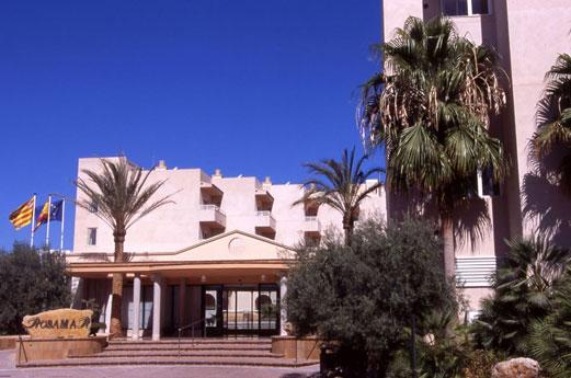 Aparthotel Rosamar Gebouw