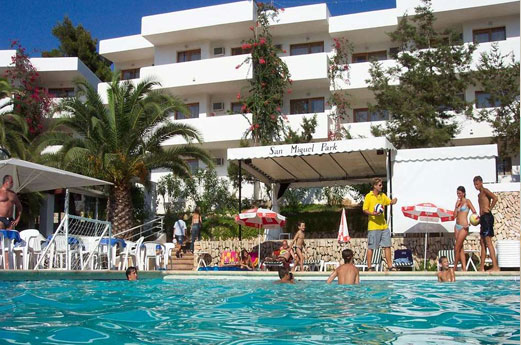 Appartementen San Miguel Park Gebouw